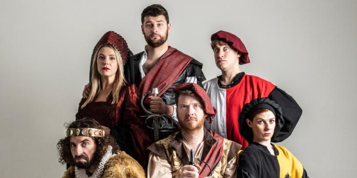Photo credit: Sh!t-faced Shakespeare cast (Photo by Rah Petherbridge Photography)