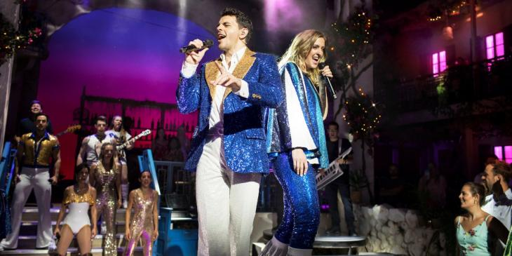 Photo credit: Cast of Mamma Mia: The Party (Photo courtesy of Mamma Mia: The Party)
