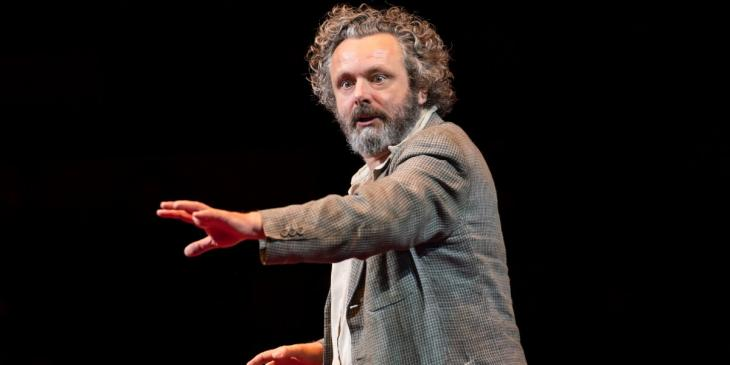 Photo credit: Michael Sheen (Photo by Johan Persson)