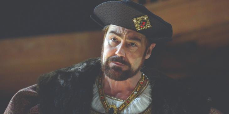 Photo credit: Nathaniel Parker as Henry VIII in Wolf Hall (Photo by Keith Pattison)Photo credit: Nathaniel Parker as Henry VIII in Wolf Hall (Photo by Keith Pattison)
