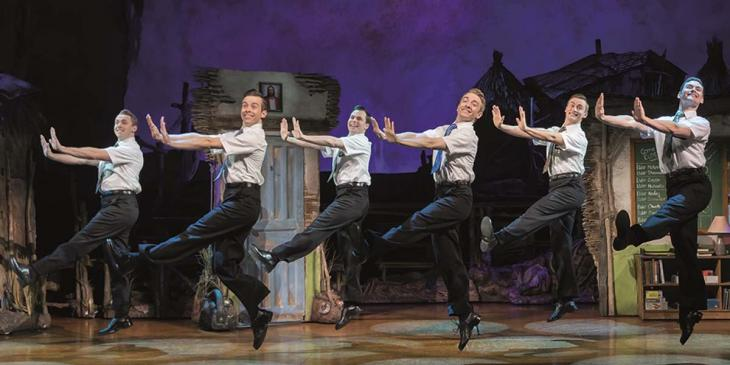 Photo credit: The Book of Mormon cast (Photo by Johan Persson)