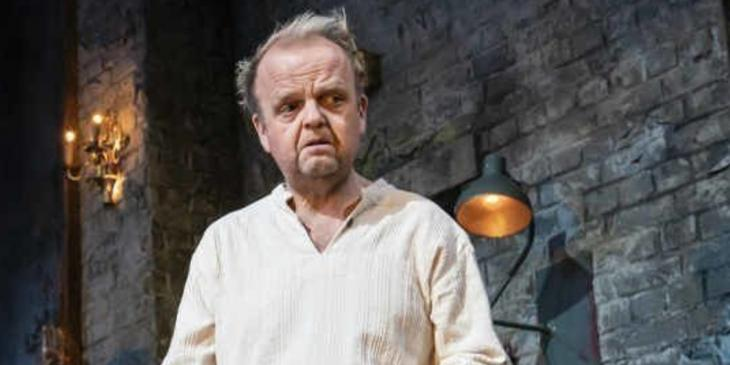 Photo credit: Toby Jones in Uncle Vanya (Photo by Johan Persson)