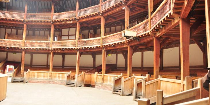 Photo credit: Shakespeare's Globe (Photo by Mabel Lu on Flickrunder CC 2.0)