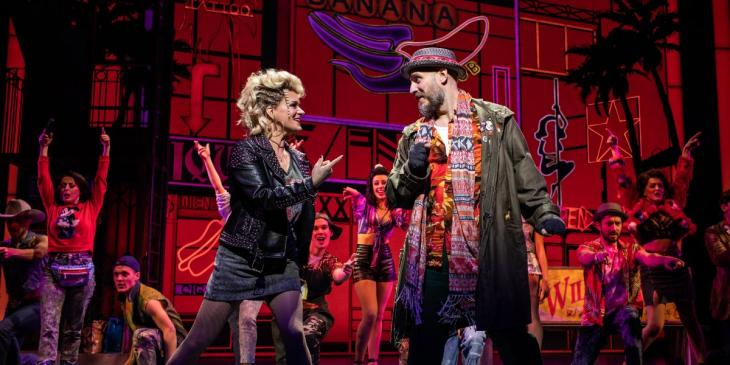 Photo credit: Rachael Wooding in Pretty Woman: The Musical (Photo by Helen Maybanks)
