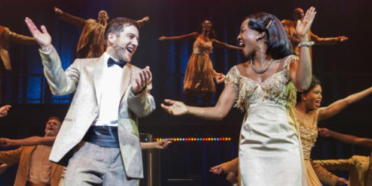 Photo credit: Matt Cardle and Beverley Knight in Memphis (Photo by David Jensen)