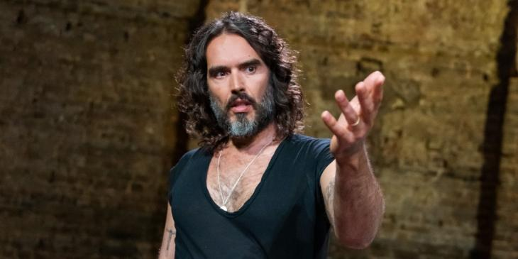 Photo credit: Russell Brand (Photo courtesy of Our Little Lives: Shakespeare and Me)