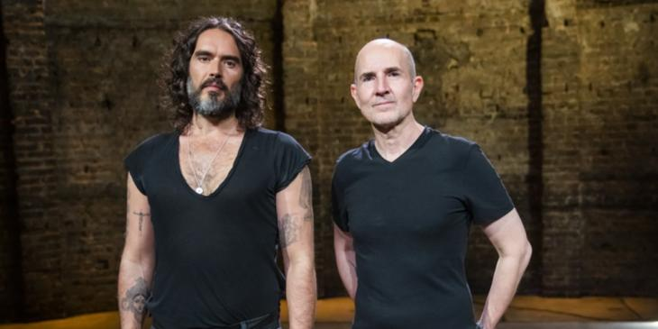 Russell Brand and Ian Rickson