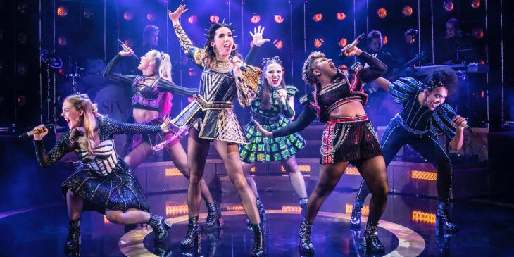 The 2019 UK tour cast of Six The Musical