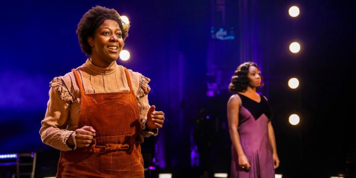 T'Shan Williams and Carly Mercedes Dyer in The Color Purple (Photo by Pamela Raith)