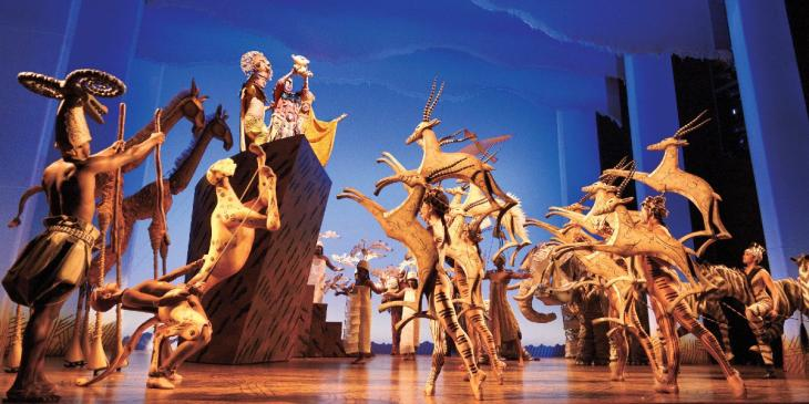 Photo credit: The Lion King cast (Photo by Deen Van Meer)