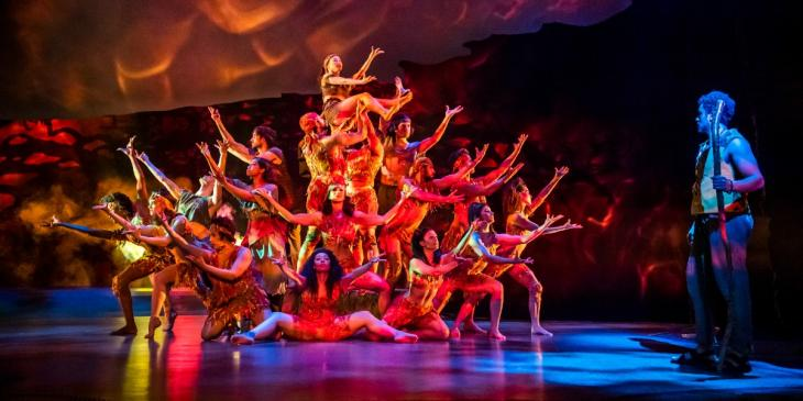 Photo credit: The Prince of Egypt Cast (Photo by Tristram Kenton)