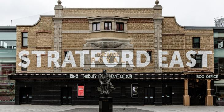 Photo credit: Theatre Royal Stratford East (Photo by Sbrooks91 on Wikipedia)