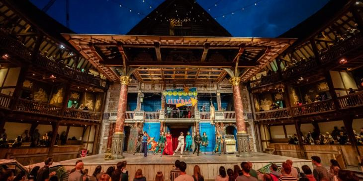 Twelfth Night at Shakespeare's Globe (Photo by Marc Brenner)