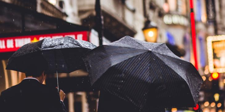 Photo credit: West End in the rain (Photo by Thomas Charters on Unsplash)