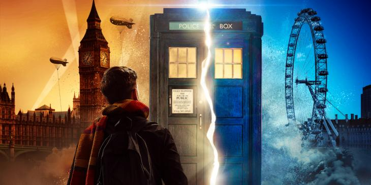 The official artwork for Doctor Who: Time Fracture