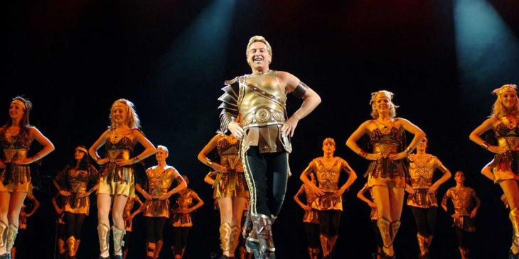 Michael Flatley performing Celtic Tiger at Madison Square Gardens in 2005