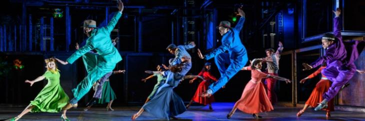 Review of On The Town at the Regent's Park Open Air Theatre