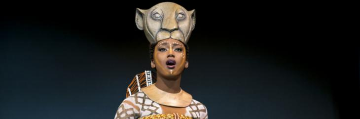 Janique Charles in The Lion King