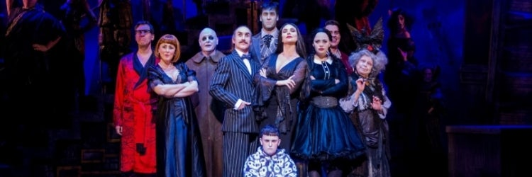 Review of The Addams Family musical at the New Wimbledon Theatre and UK Tour