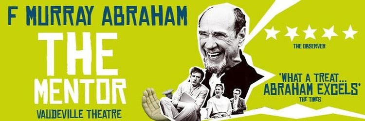 F. Murray Abraham to star in The Mentor at The Vaudeville Theatre in London's West End