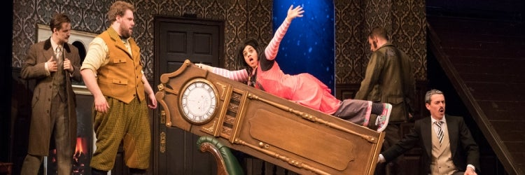 The Play That Goes Wrong opens on Broadway to strong reviews
