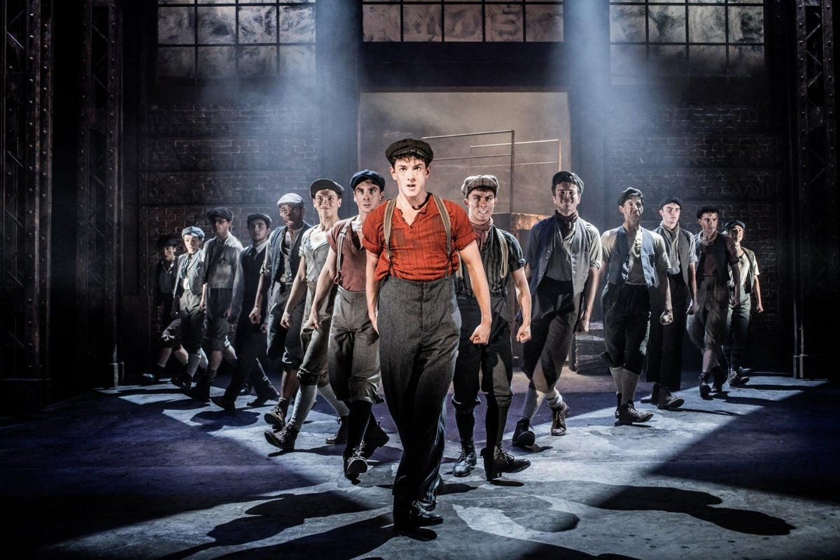 Jac Yarrow in Newsies