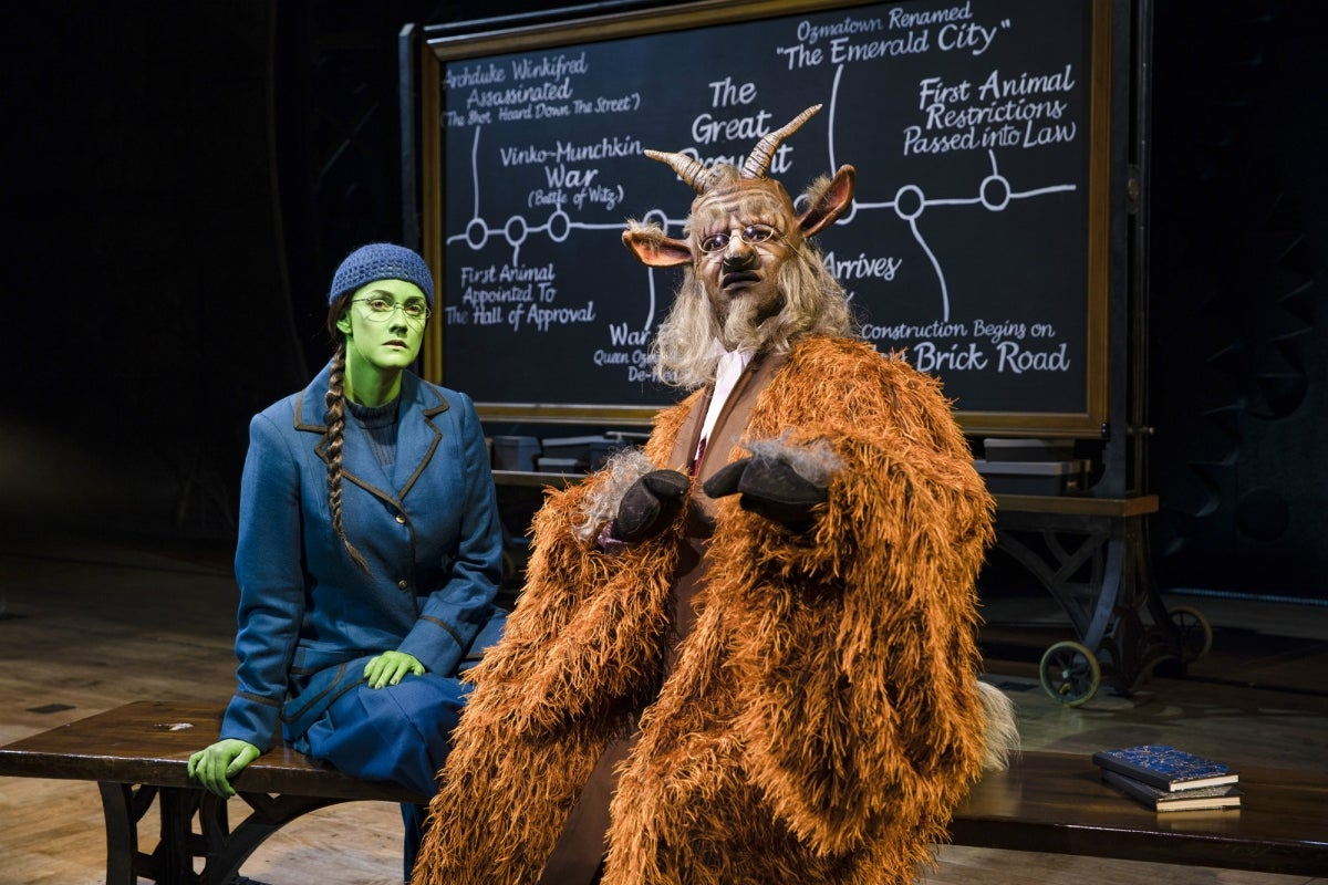 First Look At New West End Cast Of Wicked Featuring David