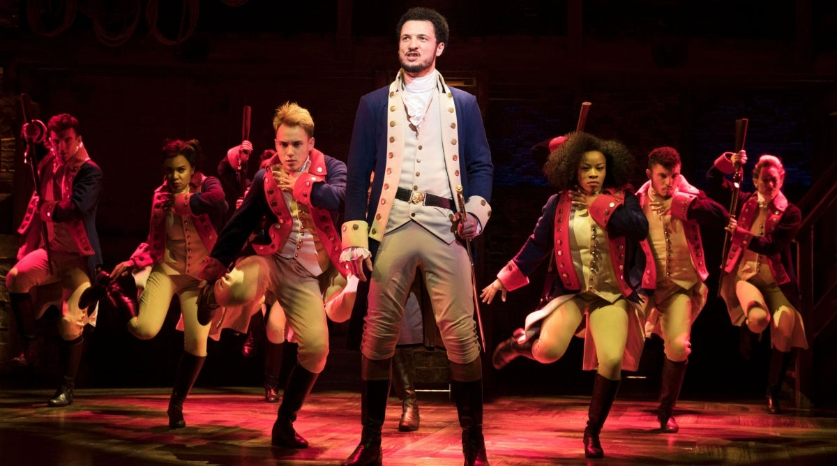 Broadway's Hamilton Will Welcome a New Title Player