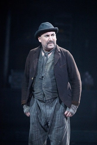 as William Voigt in The Captain of Kopenick at the Olivier in 2013