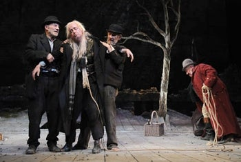Review of Waiting For Godot at Haymarket Theatre 2009